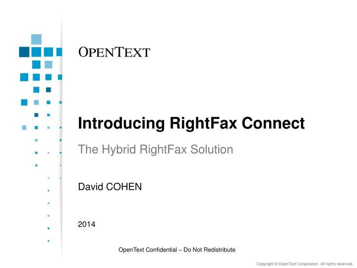 introducing rightfax connect n.