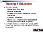 training education2