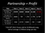 partnership profit