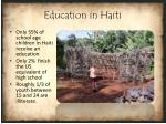 education in haiti