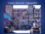 5 p ontz new york legal graffiti