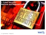 3 cyber security national and regional certs