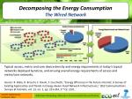 decomposing the energy consumption the wired network