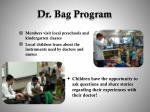 dr bag program