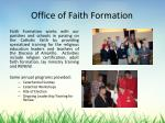office of faith formation