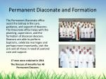 permanent diaconate and formation