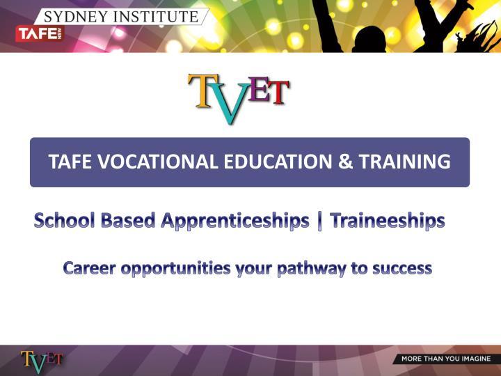 School Based Apprenticeships | Traineeships
