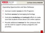 cal state online mission