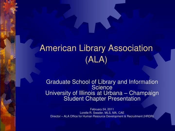 american library association ala n.