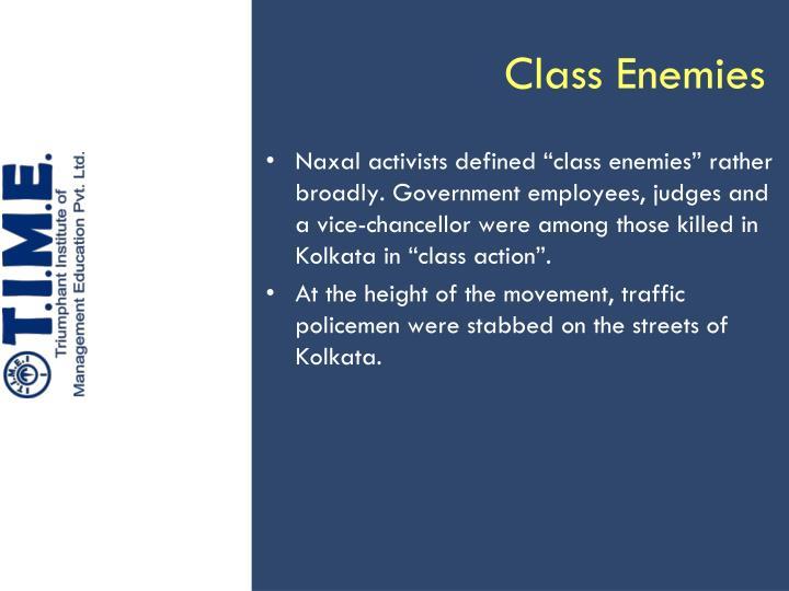 Class Enemies