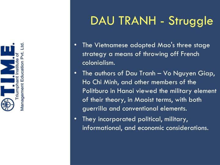 DAU TRANH - Struggle