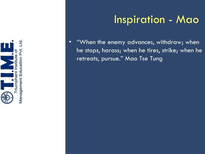 Inspiration - Mao