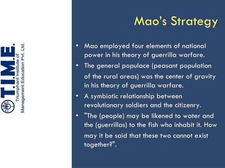 Mao's Strategy