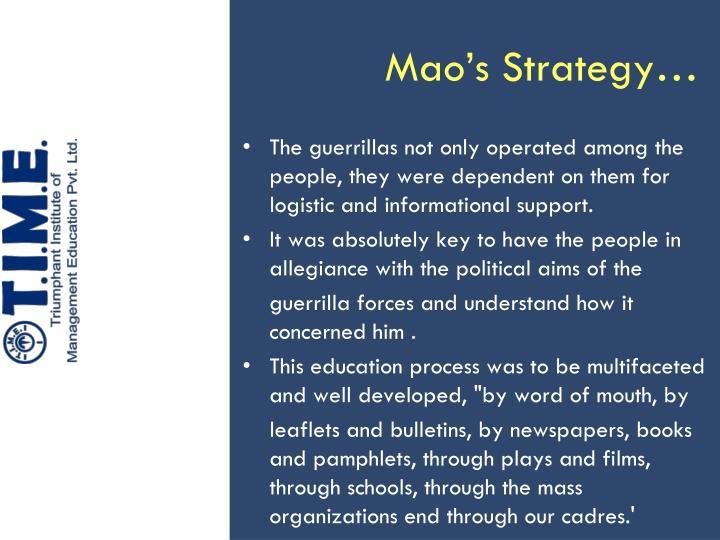 Mao's Strategy…
