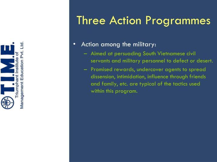 Three Action