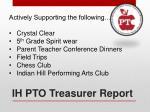 ih pto treasurer report1