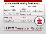 ih pto treasurer report2