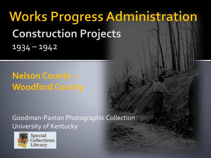works progress administration n.