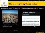 bim and highway construction
