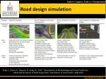 road design simulation