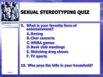 sexual stereotyping quiz3