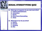 sexual stereotyping quiz5