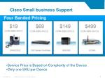 cisco small business support