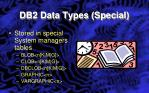 db2 data types special1