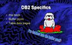 db2 specifics