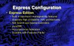 express configuration