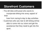 storefront customers