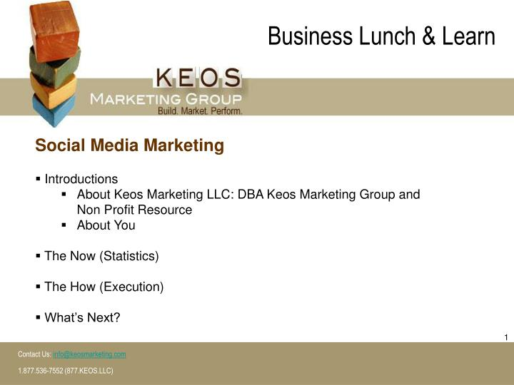 business lunch learn n.