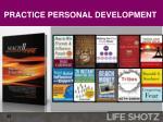 practice personal development