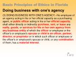 basic principles of ethics in florida22