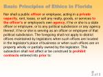 basic principles of ethics in florida23