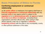 basic principles of ethics in florida25