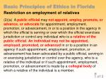 basic principles of ethics in florida32