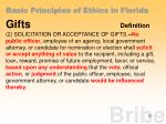 basic principles of ethics in florida9