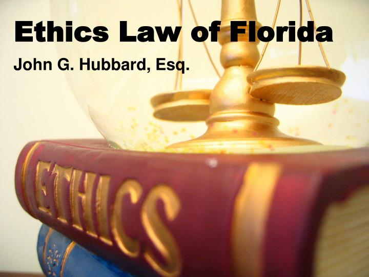 ethics law of florida n.