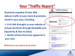 your traffic report