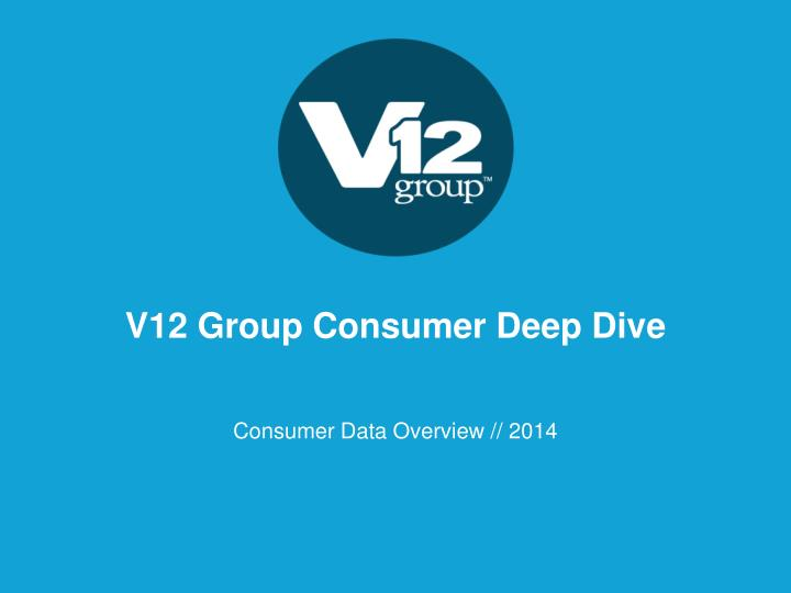 v12 group consumer deep dive n.
