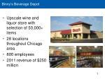 binny s beverage depot