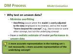 dm process model evaluation3