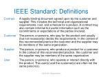 ieee standard definitions