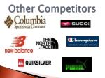 other competitors