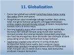 11 globalization