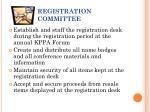 registration committee