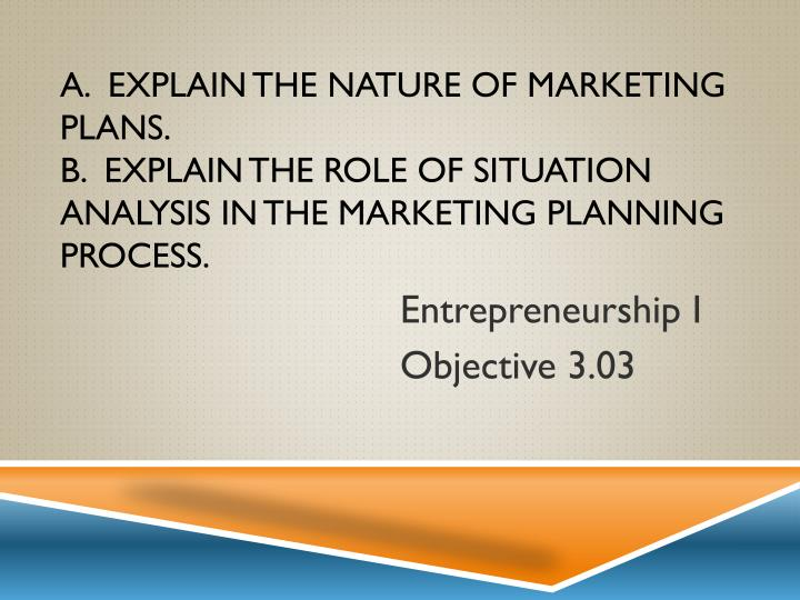 entrepreneurship i objective 3 03 n.