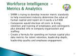 workforce intelligence metrics analytics