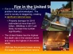 fire in the united states